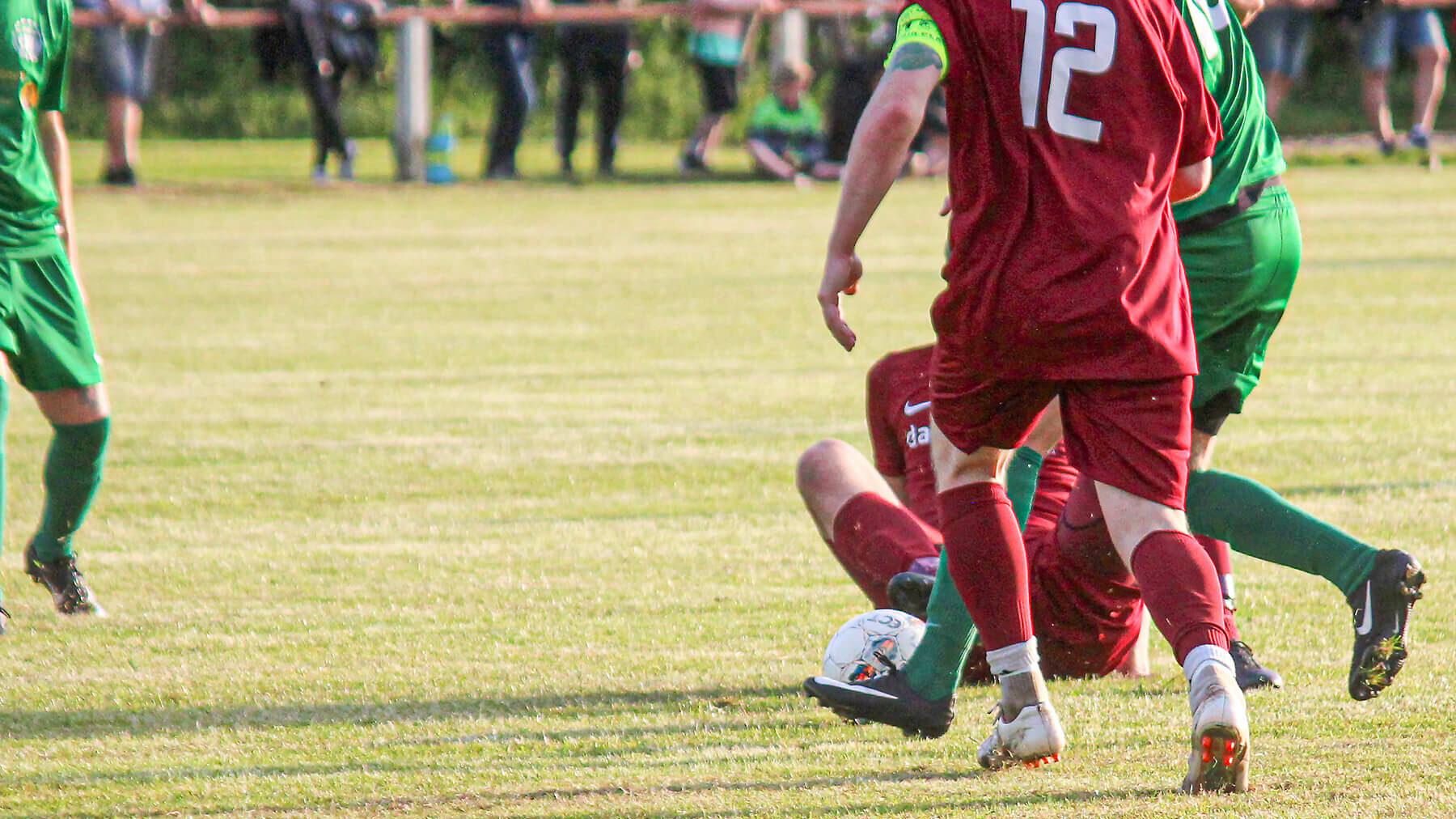 Afbudsramt førstehold tabte i Brande