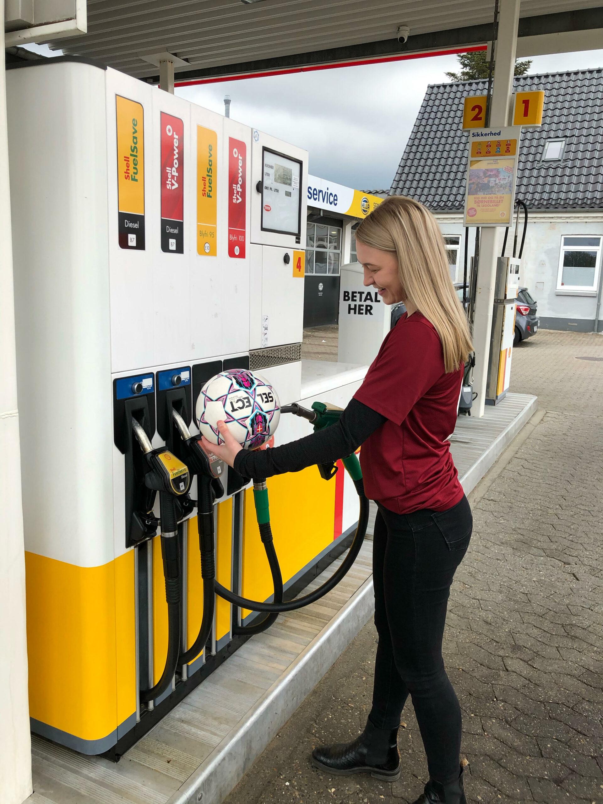 Shell tanker sponsorat på Bold Klubbenvestkysten